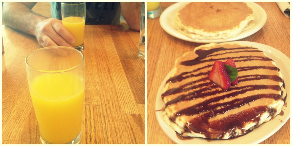 The OJ & Pancakes