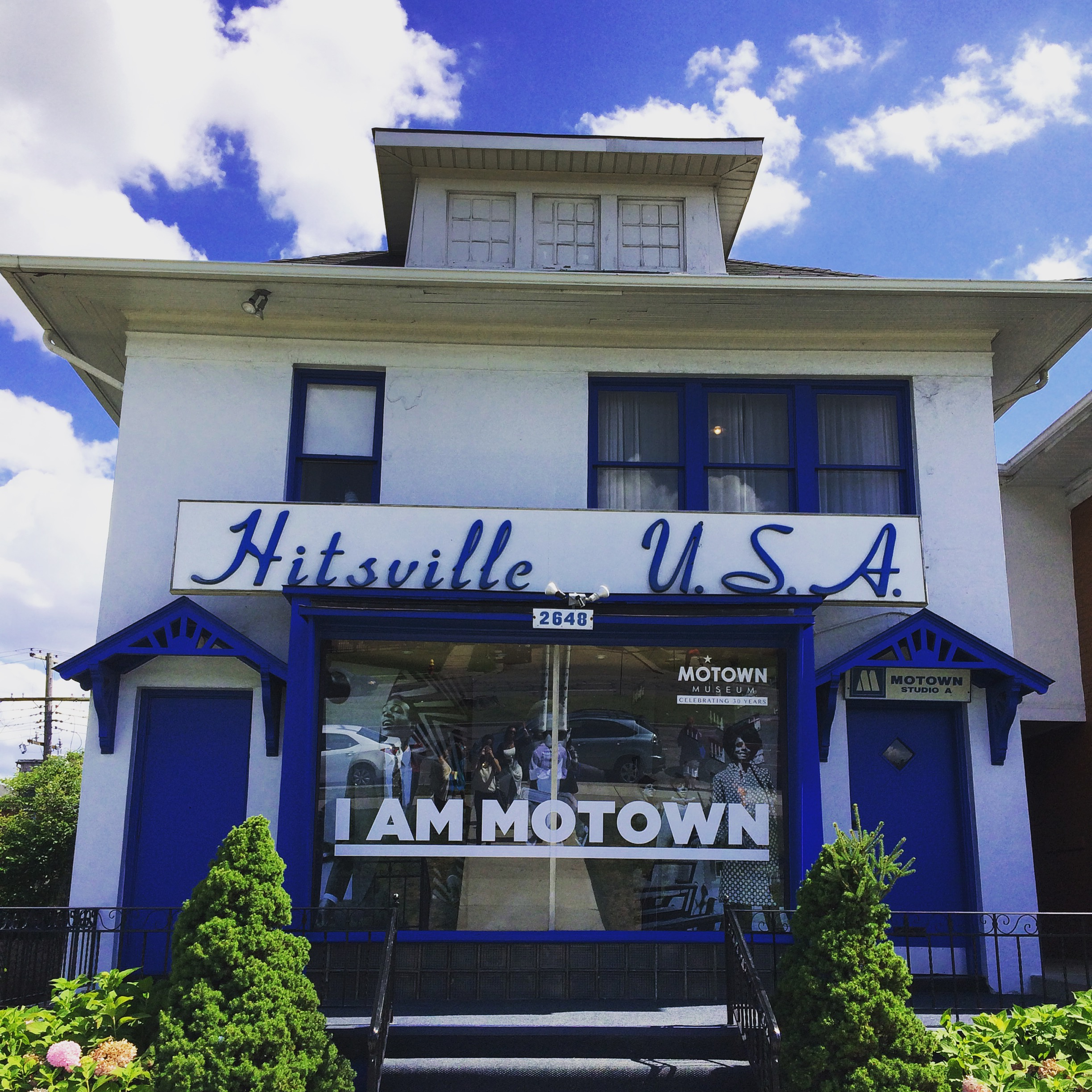 TAKE A WALK THROUGH MUSIC HISTORY AT DETROITS MOTOWN MUSEUM - Music museums in usa